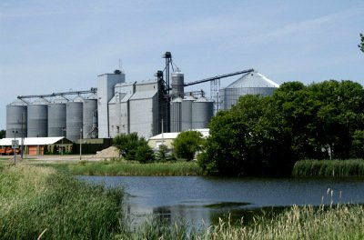 Photo of Farm Silos & Elavator